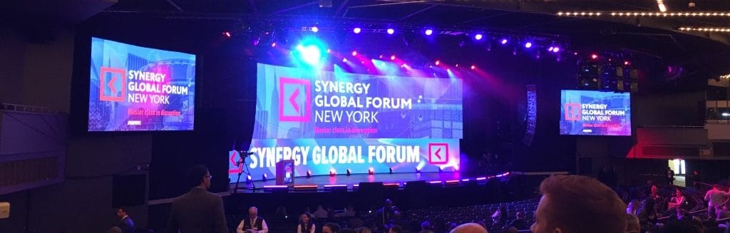 Synergy Global Forum: Master Class in Disruption 2017